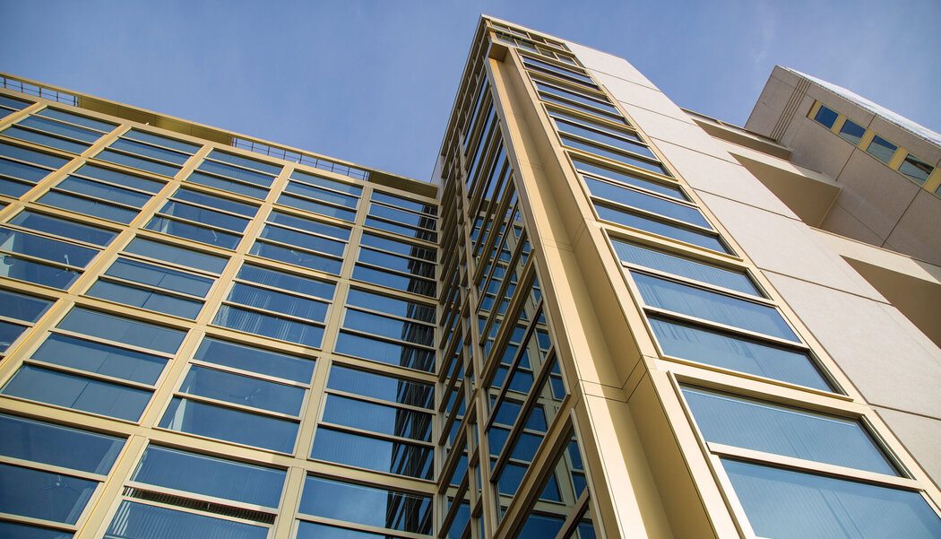 CS 77 Doors, CF 77 Sliding Systems and CW 50 Curtain Walls - Philips Light Tower Lofts located in Eindhoven, the Netherlands
