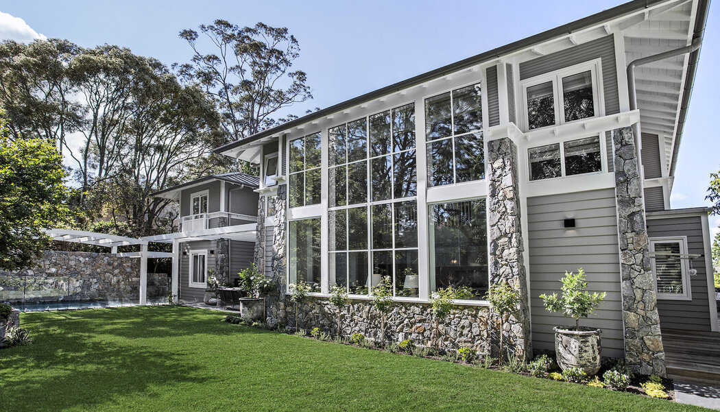 CP 130 (-LS) Sliding Systems and CS 68 Windows - House Private House Sydney located in Australia