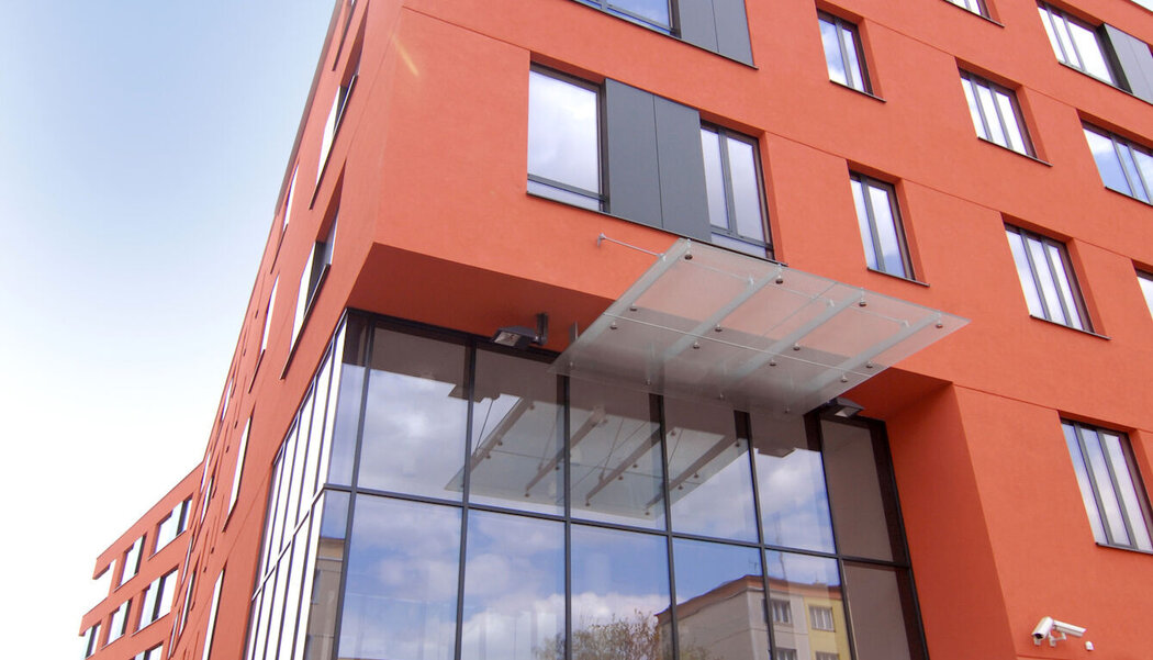 CW 50-FP Curtain Walls and CW 50 Curtain Walls - Office building East Building located in Poznań, Czech Republic