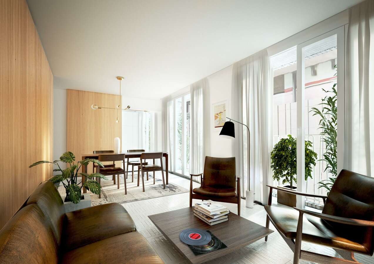 SlimLine 38 Windows, CF 77 Sliding Systems and ES 50 Doors - Apartmentcomplex Tasso.apartments located in Lisbon, Portugal